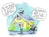 Cartoon: Untermieter (small) by Jens Natter tagged untervermietung,untermieter,tiere,vermieter,mieter,haus