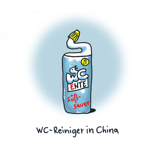 WC Reiniger in China