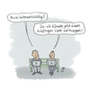 Cartoon: Internet (small) by Lo Graf von Blickensdorf tagged link,internet,nerd,wlan,laptop,notebook,kids,sucht