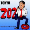 Cartoon: tokyo2021   ? (small) by takeshioekaki tagged olympia