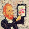 Cartoon: van Gogh (small) by takeshioekaki tagged vangogh