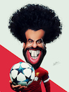 Cartoon: Mohamed Salah (small) by Ahmed Mostafa tagged mohamed,salah