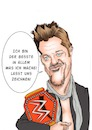 Cartoon: Chris Jericho (small) by Vetters Art tagged karikatur