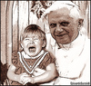 Cartoon: benedetto (small) by edoardo baraldi tagged papa,ratzinger