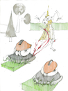 Cartoon: der Garten im Herbst (small) by herranderl tagged finale,agent,orange