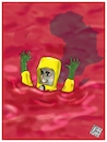 Cartoon: In the Congo the worst Ebola out (small) by Christi tagged evola,congo,guera