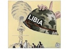Cartoon: La guerra in Libia (small) by Christi tagged libya,turkish,haftar,sarraj,innocent,civilians