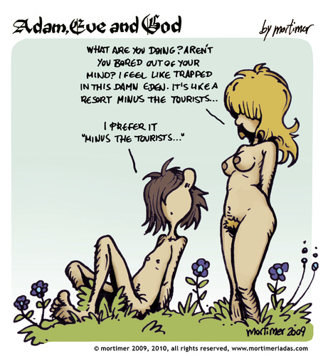 adam eve and god 08