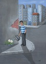 Cartoon: Urbanization2 (small) by menekse cam tagged urbanization,city,buildings,flowers,geography,classbook