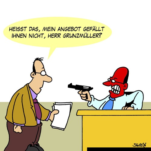 Angebot Von Karsten Wirtschaft Cartoon Toonpool