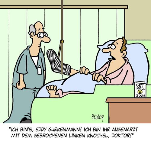 Cartoon augenarzt medium by karsten tagged gesundheit ärzte