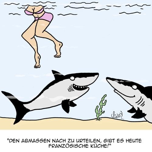 Französisch von Karsten | Medien & Kultur Cartoon | TOONPOOL | {Französische küche comic 19}