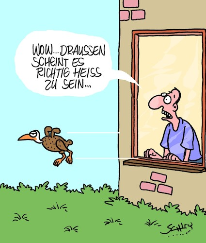 Heiss Von Karsten Natur Cartoon Toonpool
