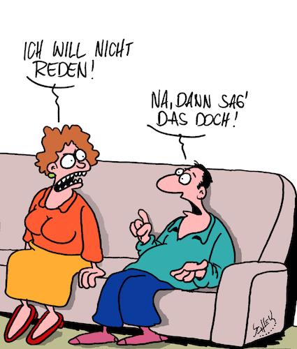 Kommunikation von Karsten | Liebe Cartoon | TOONPOOL