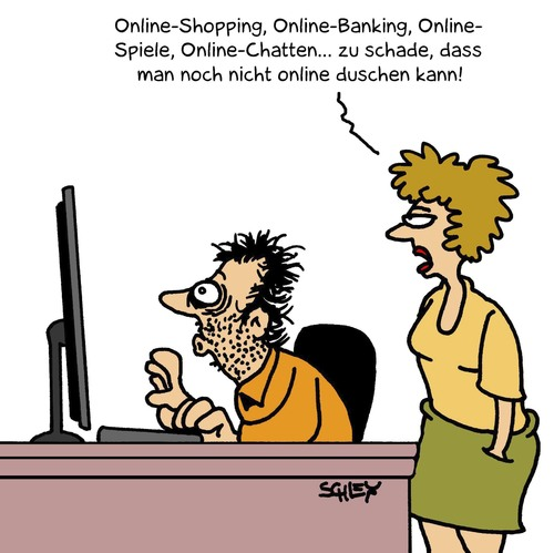 online von karsten forschung technik cartoon toonpool