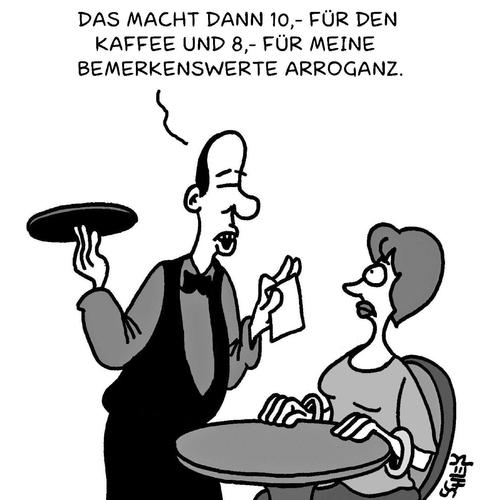 Rechnung Von Karsten Wirtschaft Cartoon Toonpool