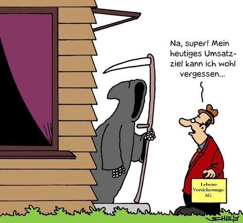 Versicherung Von Karsten Wirtschaft Cartoon Toonpool