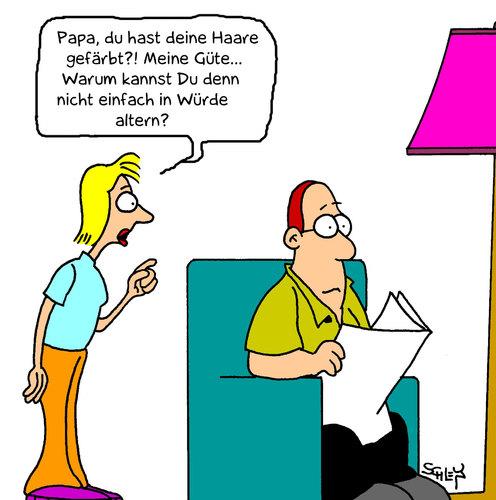Würde von Karsten | Medien & Kultur Cartoon | TOONPOOL
