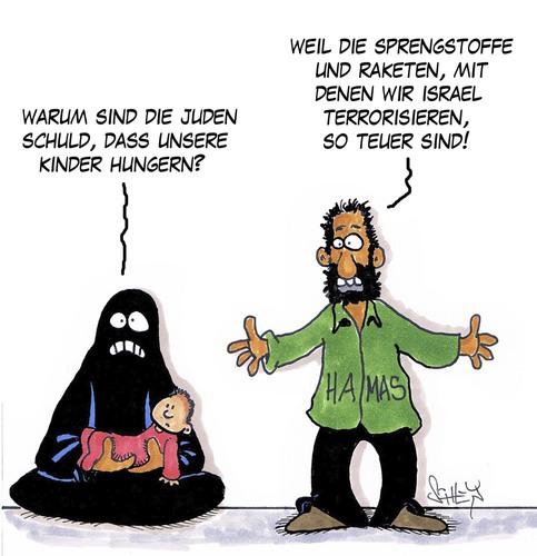 Cartoon zu teuer medium by karsten tagged terror israel hamas