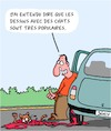 Cartoon: Chats (small) by Karsten tagged trafic,medias,internet,popularite,chats,dessins,voitures