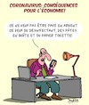 Cartoon: Corona Consequences (small) by Karsten tagged economie,argent,coronavirus,emplois,actions,politique