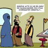 Cartoon: Damenmode (small) by Karsten tagged religion,muslime,islam,frauen,mode,damenmode