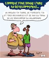 Cartoon: Developpement (small) by Karsten tagged exploitation,europe,afrique,politique,developpement,pauvrete