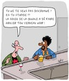Cartoon: Discrimination! (small) by Karsten tagged discrimination,racisme,black,lives,matter,politique,hypocrisie