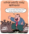 Cartoon: Erdogan (small) by Karsten tagged erdogan,religion,europe,relations,politique,economie,covid19