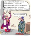 Cartoon: Fashion - Voll hip! (small) by Karsten tagged mode,trends,modeschöpfer,business,obdachlosigkeit,soziales,armut,politik,industrie,wirtschaft,gesellschaft