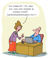 Cartoon: Ganz sicher! (small) by Karsten tagged it,computer,sicherheit,passworte,technik,daten,datendiebstahl,datensicherheit,internet,kriminalität,gesellschaft