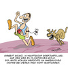 Cartoon: Gold-Medallie!! (small) by Karsten tagged sport,olympia,wettkampf,leichtatletik,sprinter,doping,betrug,tiere,hunde