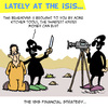 Cartoon: Isis Financial Concept (small) by Karsten tagged money,isis,terror,religion,islam,crime,finance