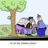 Cartoon: Johnny (small) by Karsten tagged country,verkehr,autos,polizei,unfälle,musik,autofahrer