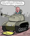Cartoon: Krieg in Libyen (small) by Karsten tagged libyen,krieg,türkei,erdogan,politik,russland