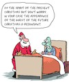 Cartoon: Last Christmas (small) by Karsten Schley tagged christmas,religion,christianity,literature,culture,carol,films,entertainment,ghosts,life,death,holidays