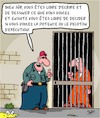 Cartoon: Liberte (small) by Karsten tagged medias,politique,caricaturistes,journalistes,justice