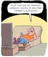 Cartoon: Mauvaises Nouvelles (small) by Karsten tagged journalisme,violence,presse,medias