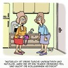 Cartoon: Neidisch!! (small) by Karsten tagged frauen,mode,arbeit,eitelkeit,eifersucht,jobs