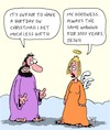 Cartoon: Not fair! (small) by Karsten tagged christmas,birthday,bible,religion,christianity,belief,jesus,holidays