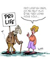 Cartoon: Pro Life (small) by Karsten tagged avortement,droits,des,femmes,autodetermination,age,politique,medicale
