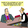 Cartoon: Rettet den Planeten! (small) by Karsten tagged wasser,gastronomie,umwelt,umweltschutz,trinken,bars,kneipen,pubs,natur,naturschutz,klima,umweltzerstörung
