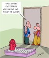 Cartoon: Unisex (small) by Karsten tagged sexe,economie,diversite,employeurs,employes