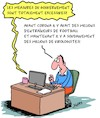 Cartoon: Virologistes (small) by Karsten tagged coronavirus,virologistes,experts,facebook,internet,sante