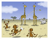 Cartoon: Monkey Rugby (small) by Egero tagged rugby
