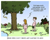 Cartoon: neulich im Paradies... (small) by Egero tagged paradies,paradise,klamotten,clothes,adam,eva,eve,egero,oliver,eger