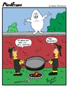 Cartoon: MINDFRAME (small) by Brian Ponshock tagged humpty,dumpty,breakfast,firemen