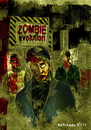 Cartoon: zombie evolution (small) by kahramankilic tagged photoshop,illustration,zombie,drawing