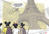 Cartoon: MICE tourism (small) by rodrigo tagged meetings incentives conferences events mice tourism paris parisian eiffel tower