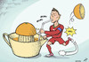 Cartoon: Vitamin CR7 (small) by rodrigo tagged euro,2012,portugal,football,poland,ukraine,soccer,tv,cristiano,ronaldo,holland,netherlands